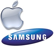 Apple Samsung logo