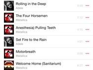 Muziekspeler iOS 8.4