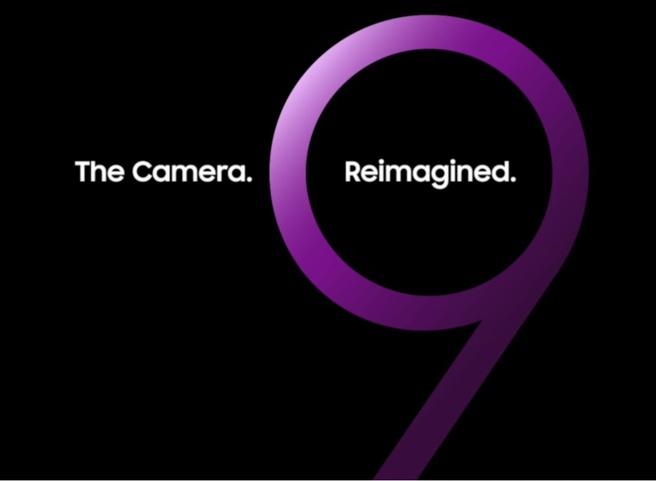 Samsung Galaxy S9-teaser