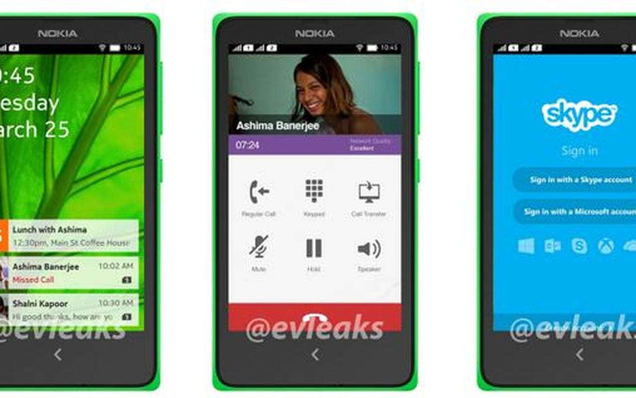 Gerucht: Nokia's Android-telefoon komt uit in maart ...
