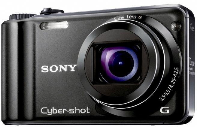 Sony Cybershot DSC-HX5V Zwart