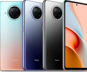 Xiaomi Redmi Note 9 pro 5G, november 2020