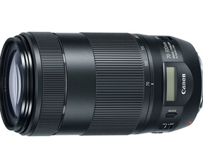 Canon EF-M 18-150mm en EF 70-300mm IS II USM