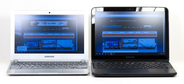 Vergelijking tussen Cortex A15-soc en Atom N570 in Chromebooks