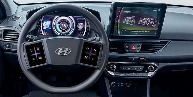 Hyundai virtuele cockpit