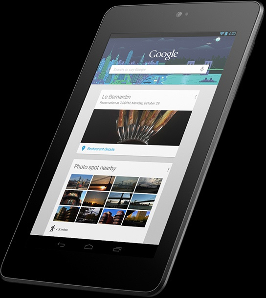 Asus Nexus 7 32GB Zwart - Kenmerken - Tweakers