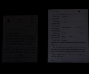 Minimale schermhelderheid Amazon Kindle Voyage en Kobo Aura H2O