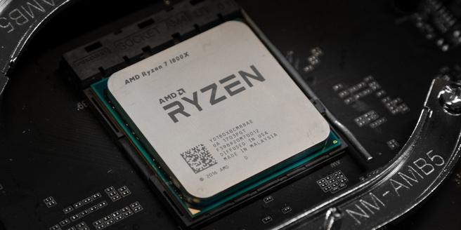 AMD Ryzen 7 in socket