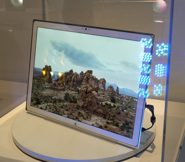 Panasonic 4k 20inch tablet