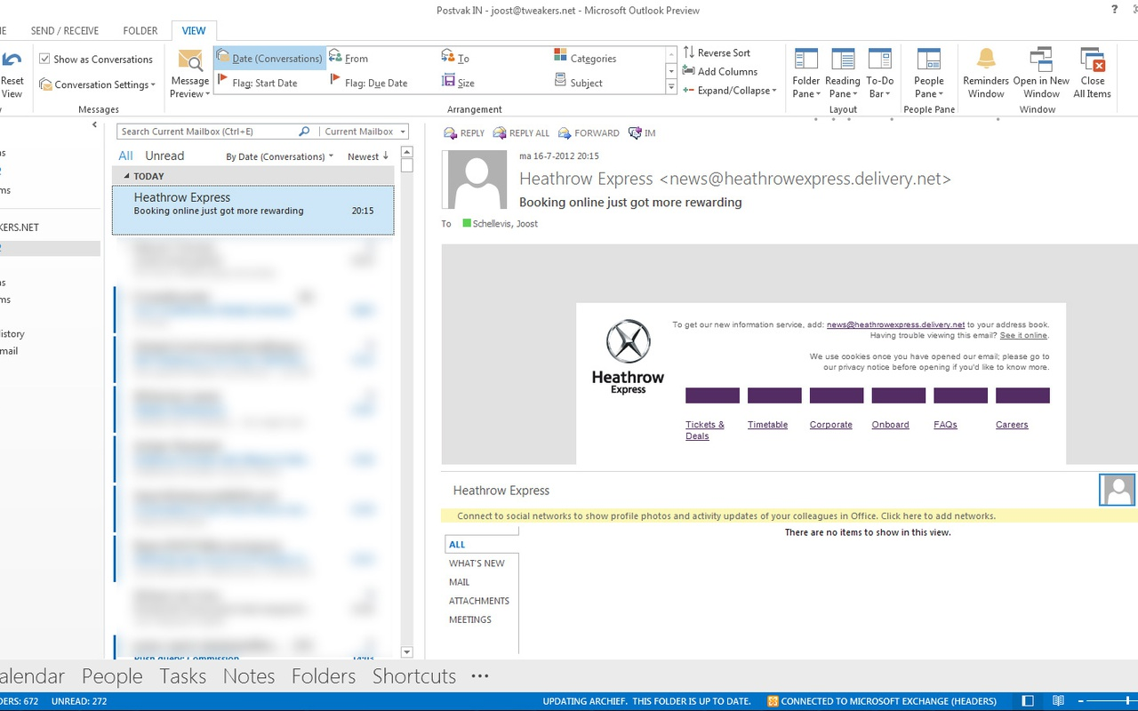 Office 2013 - Outlook