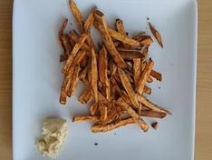 Zoete-aardappel / Airfryer
