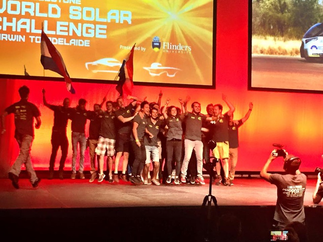 World Solar Challenge 2015 prijsuitreiking