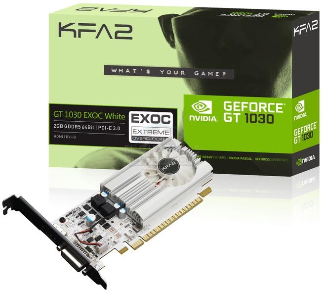 KFA2 GeForce GT 1080 EXOC