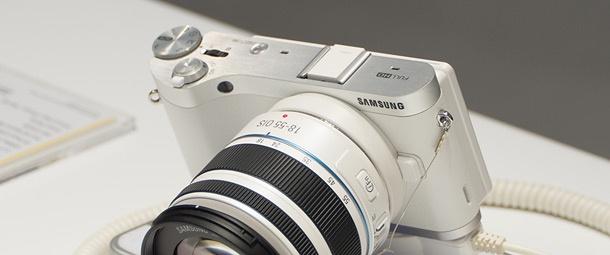 Samsung NX300 top