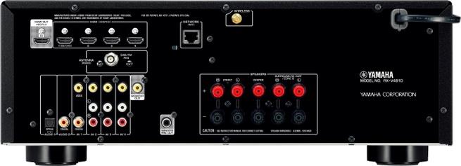 Yamaha RX-V481D Zwart