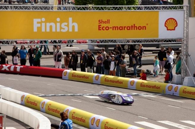 Team H2A op Shell Ecomarathon