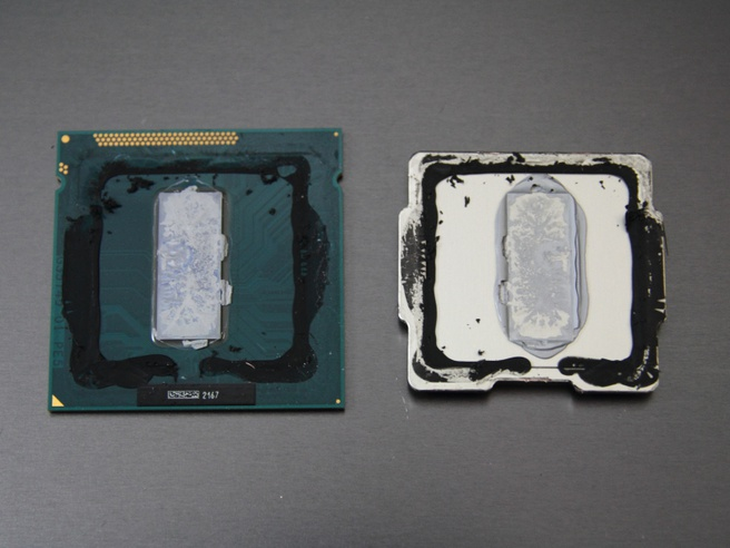 Intel Core i7-3770K koelpasta temperaturen