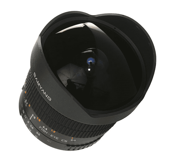 Samyang 8mm f/3.5 Aspherical IF MC Fish-eye Samsung