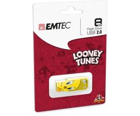Emtec M750 Looney Toons - Tweety 8GB Geel