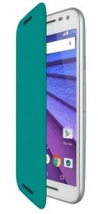 Motorola Flip Shell Moto G (3rd gen) - Turquoise