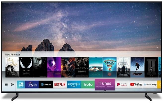 Apple iTunes op Samsung-tv's