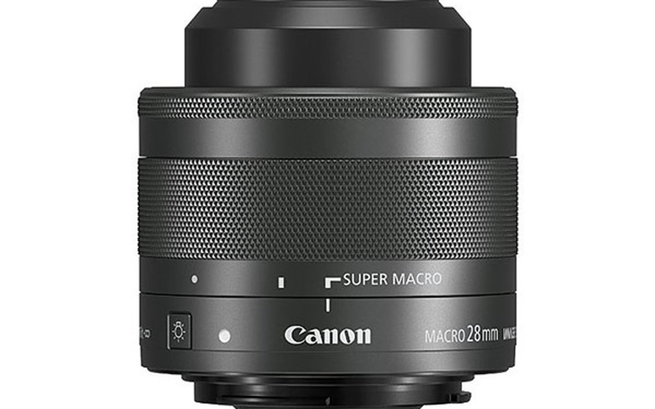 Canon EF-M 28mm f/2.8 Macro IS STM