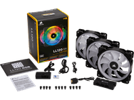 Corsair LL120 RGB LED 120mm fan met Lighting Node Pro (Single pack), 120mm