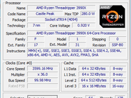 Threadripper 3990X cpu-z