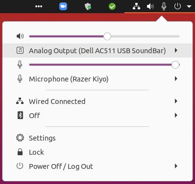 Ubuntu 20.04 audio