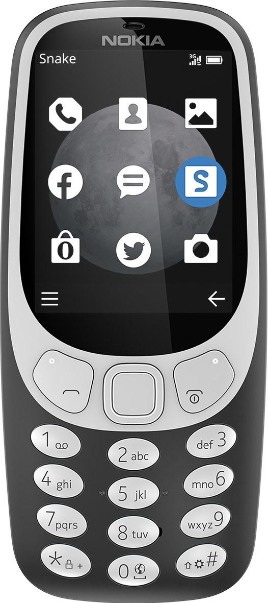 Nokia 3310 3G (2017) Grijs