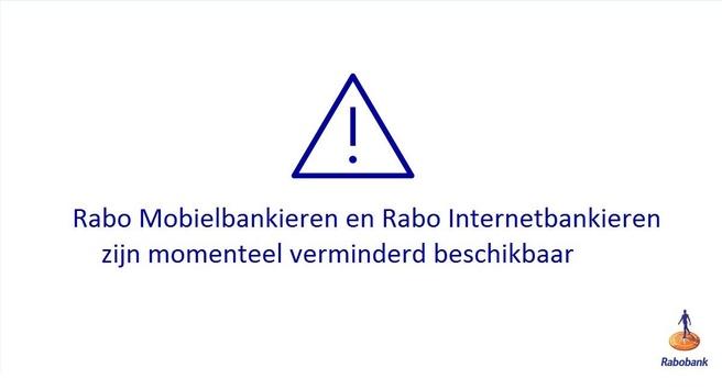 Rabobank down