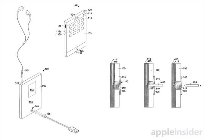 Apple-patent elastomeer