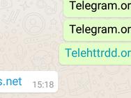 Whatsapp blokkeert Telegram