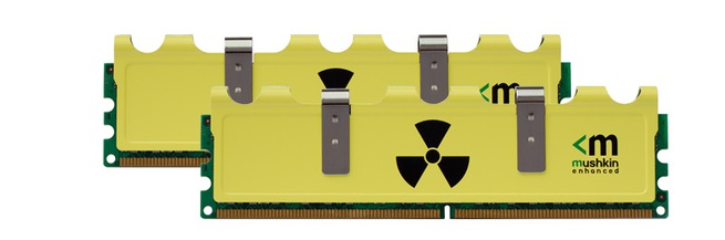 Mushkin Radioactive 4GB (2x2GB) DDR3 PC3-12800