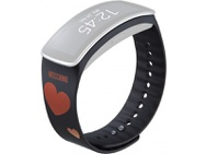 Goedkoopste Samsung polsband Gear Fit Moschino zwart/rood