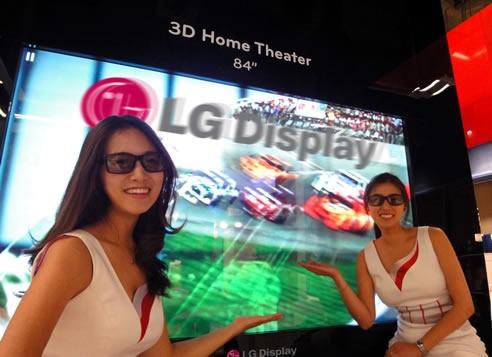 """84"""" uhd-display van LG"""