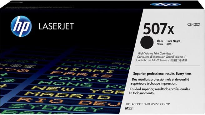 HP Laserjet 507X BLACK LASERJET TONER CART