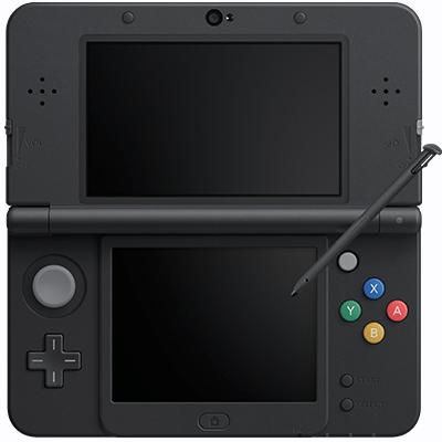 New Nintendo 3DS Zwart