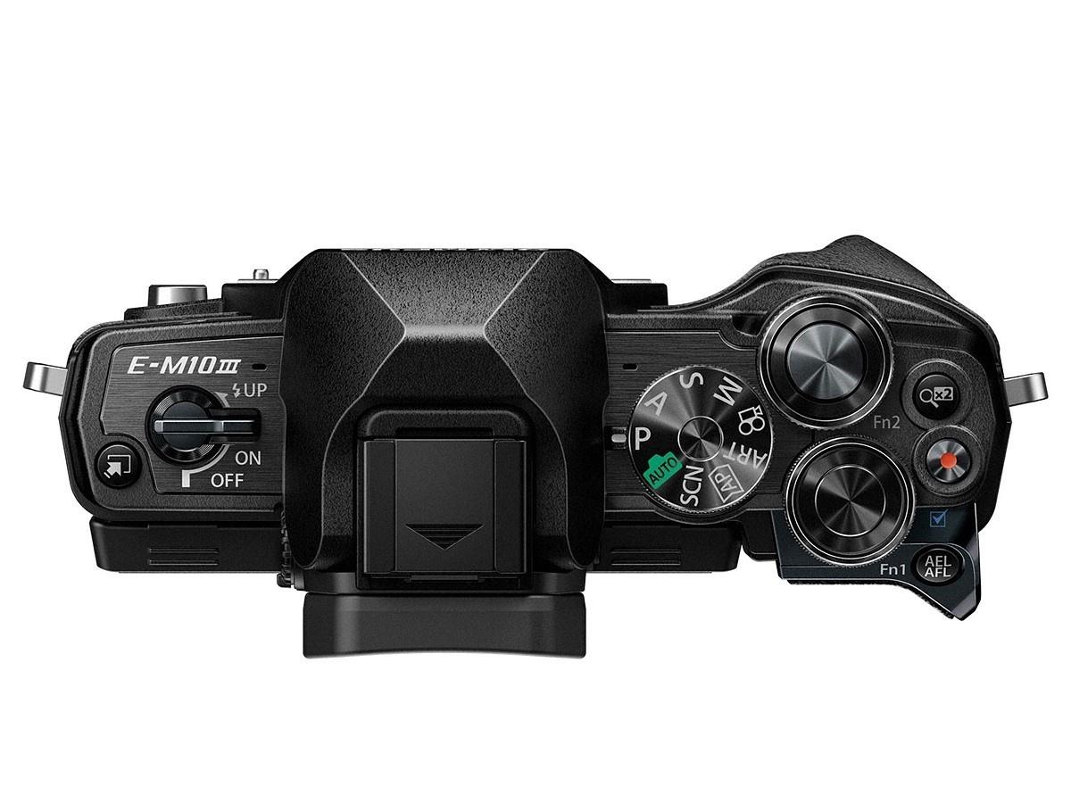 Olympus Voorziet E M10 Mark Iii Systeemcamera Van 4k Filmfunctie Om D Kit 14 42mm F 35 56 Ez Silver