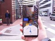 Ar-functie in Google Maps - Afbeeldingen: The Wall Street Journal