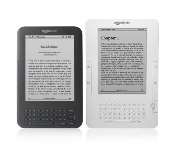 Kindle nieuw / Kindle oud