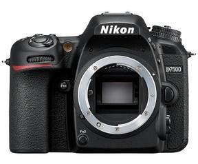 Nikon D7500 Zwart
