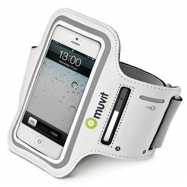 Muvit Sport armband iPhone 5/5S (white)