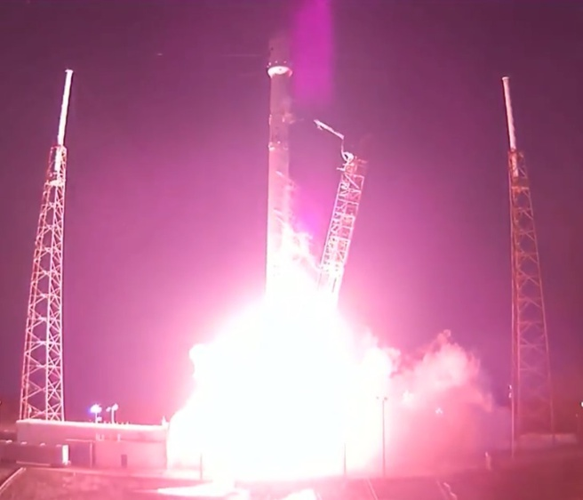 SpaceX lancering Falcon 9