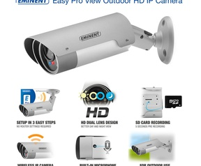 EM6260 Easy Pro View Outdoor HD