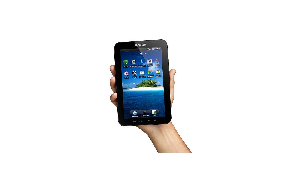 ifa samsung kondigt android tablet galaxy tab aan tablets en telefoons nieuws tweakers. Black Bedroom Furniture Sets. Home Design Ideas