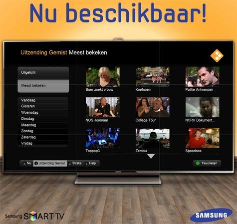 Samsung Uitzending Gemist