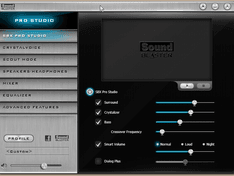 Sound Blaster – SBX Pro Studio