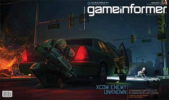 Game Informer cover Xcom: Enemy Unknown