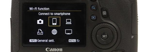 Canon EOS 6D wifi